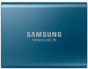Samsung T5 250GB Portable Solid State Drive - Blue