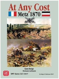 At Any Cost: Metz 1870 (Board Game) - Cover