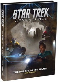 Star Trek Adventures - Core Rulebook (Role Playing Game) - Cover