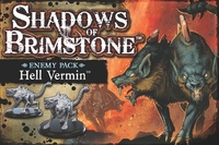 Shadows of Brimstone - Hell Vermin Enemy Pack (Board Game) - Cover