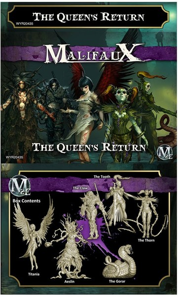 Malifaux 2E - Neverborn: The Queen's Return (Miniatures)