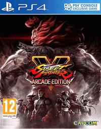 Street Fighter V - Arcade Edition (PS4) - Cover