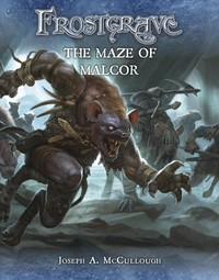 Frostgrave: the Maze of Malcor - Joseph a. Mccullough (Paperback) - Cover