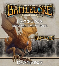 BattleLore (Second Edition): Razorwings Reinforcement Pack (Board Game) - Cover