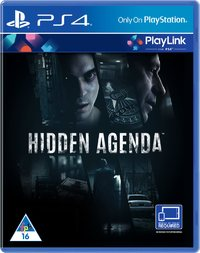 Hidden Agenda (PS4) - Cover
