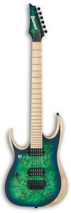 Ibanez RGDIX6MPBL-SBB RGD Iron Label Series Left Handed Electric Guitar (Surreal Blue Burst) - Cover