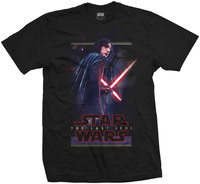 Star Wars The Last Jedi - Kylo Pose Mens Black T-Shirt (XX-Large) - Cover