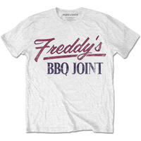 House of Cards - Freddy's BBQ Joint Mens White T-Shirt (X-Large)