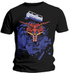 Judas Priest - Defenders Blue Mens Black T-Shirt (X-Large)