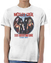 Motley Crue - Every Mothers Nightmare Mens White T-Shirt (X-Large)