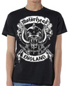Motorhead - Crosses Sword England Crest Mens Black T-Shirt (X-Large)