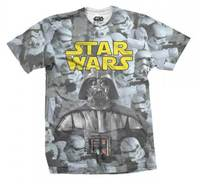 Star Wars - Imperial Photo Montage Mens Sublimation T-Shirt (Large) - Cover