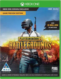 Playerunknown's Battlegrounds - Game Preview Edition (Xbox One) - Cover