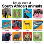 My Big Book Of South African Animals - Priddy Roger (Hardcover) - Cover