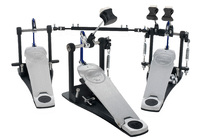 PDP PDDPCXF Concept Series Double Bass Drum Pedal with Extended Foot Board
