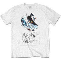 Pink Floyd - The Wall Teacher Mens White T-Shirt (X-Large) - Cover