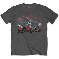 Pink Floyd - The Wall Marching Hammers Mens Black T-Shirt (Medium) - Cover