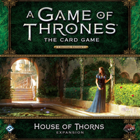 A Game of Thrones: The Card Game (Second Edition) - House of Thorns (Card Game) - Cover