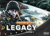 Pandemic Legacy: Season 2 - Black Edition (Board Game) - Cover