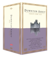 Downton Abbey Seasons 1-6 + Specials Boxset (DVD) - Cover