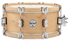 PDP PDSX0614CLWH LTD Classic Edition Wooden Hoops Series 6 x 14 Inch Maple Snare Drum