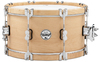 PDP PDSX0714CLWH LTD Classic Edition Wooden Hoops Series 7 x 14 Inch Maple Snare Drum
