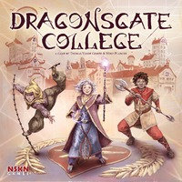 Dragonsgate College (Board Game) - Cover