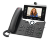 Cisco IP PHONE 8845 Wired handset LCD - Charcoal