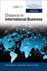 Distance In International Business (Hardcover) - Cover