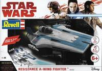 Revell - Star Wars Build & Play Resistance A-Wing Fighter Blue - Cover
