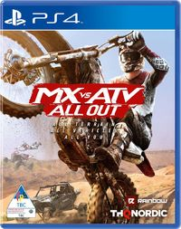 MX vs ATV: All Out (PS4) - Cover