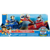 Paw Patrol - Pirate Pups: Pirate Vehicles with Chase and Marshall Figures (2 Pack)