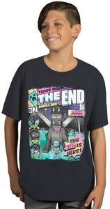 Minecraft - Tales from the End Youth T-Shirt (Small) - Cover
