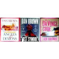 Dan Brown Three Book Set (Angels & Demons Special Illustrated Edition - The Lost Symbol Special Illustrated Edition - The DaVinci Code Special Illustrated Edition) (Hardcover)