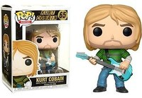 Funko Pop! Rocks - Kurt Cobain (Striped Shirt) Vinyl Figure - Cover