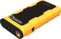 Romoss Jump Starter 12000mAH Power Bank with Flash Light - Yellow - Cover