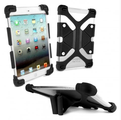 58a94368df57 Tuff-Luv Rugged Universal Silicone Tablet case & Stand for 7-8 inch ...