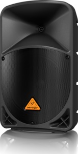 Behringer B112D Eurolive Series 1000 watt 12 Inch 2-Way Active Loud Speaker - Single (Black) - Cover