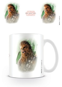Star Wars - The Last Jedi Chewbacca Brush Stroke Mug - Cover