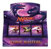 Magic: The Gathering - Iconic Masters Booster (Trading Card Game) - Cover