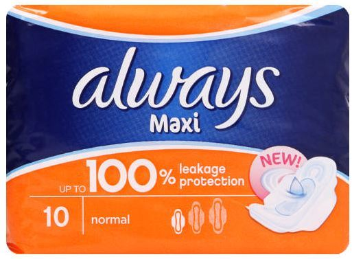 Always - Maxi Plus Normal Pads (10s)