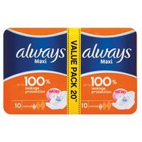 Always - Maxi Plus Normal Pads Economy Pack (20s)