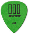 Dunlop 462R 0.88 Tortex TIII Guitar Plectrum (Green)