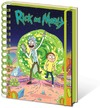 Rick and Morty - Portal A5 Notebook Cover