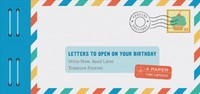 Letters to Open on Your Birthday - Lea Redmond (Stationery) - Cover