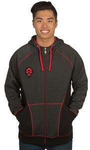 World of Warcraft - Horde Classic Premium Zip-up Mens Hoodie (XXXX-Large) - Cover