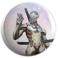 "Overwatch - Genji Button (1.25"") - Cover"