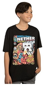 Minecraft - Tales From the Nether Youth T-Shirt (9/10) - Cover
