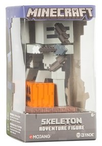 "Minecraft - Skeleton With Bow Adventure Figures Series 1 (4"" Tall)"