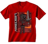 Minecraft - Vintage Wither Skeleton Youth T-Shirt (X-Large) - Cover